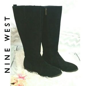 NINE WEST Leather Upper boots NICOLAH Style 9.5